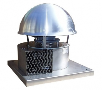 Tourelle centrifuge type eft v ventilateurs industriels - Tourelle extraction cuisine ...